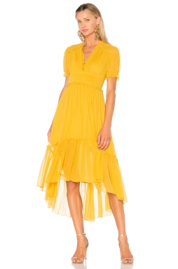 Ulla Johnson Sonja Dress in Honey, $575 from REVOLVE