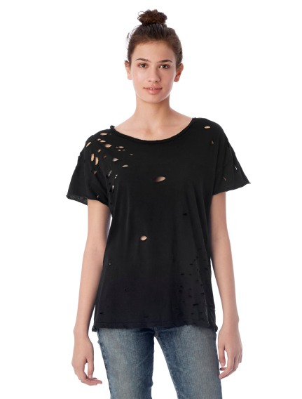 Alternative Apparel Rocker Super Distressed Garment-Dyed T-Shirt, $48, Photo Cred Alternative Apparel