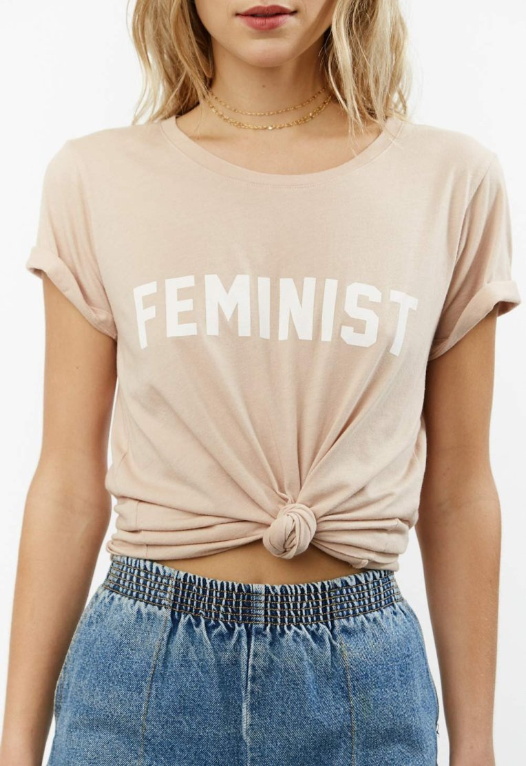 Daydreamer Feminist Short Sleeve Tee, $50, Photo Cred Daydreamer