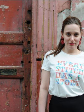 Every Stitch Tee from People Tree, on sale for $15.20, Photo Cred People Tree