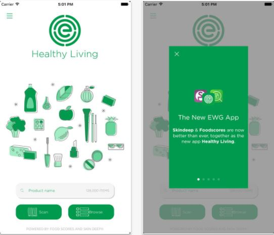 EWG Healthy Living App, Photo Cred EWG