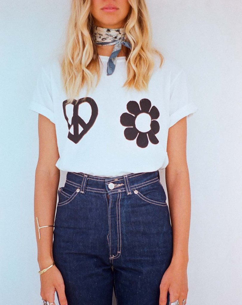 Ladies Love Tee from Cleobella, $49, Photo Cred Cleobella