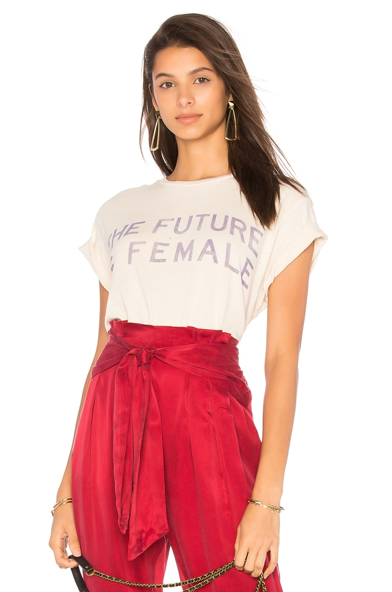 Madeworn The Future Is Female Tee, $160, Photo Cred REVOVLE