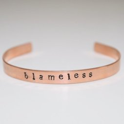 Rewritten Blameless Cuff, $25, Photo Cred Rewritten