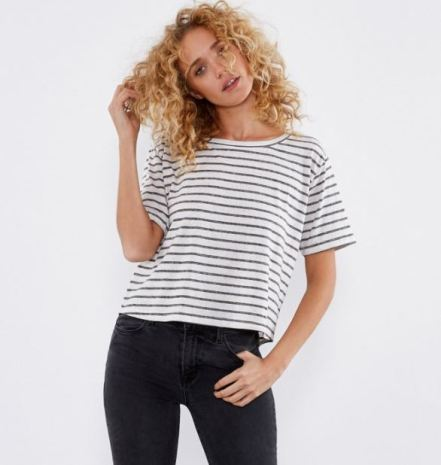 Threads4Thought Cooper Tee in Black, $44