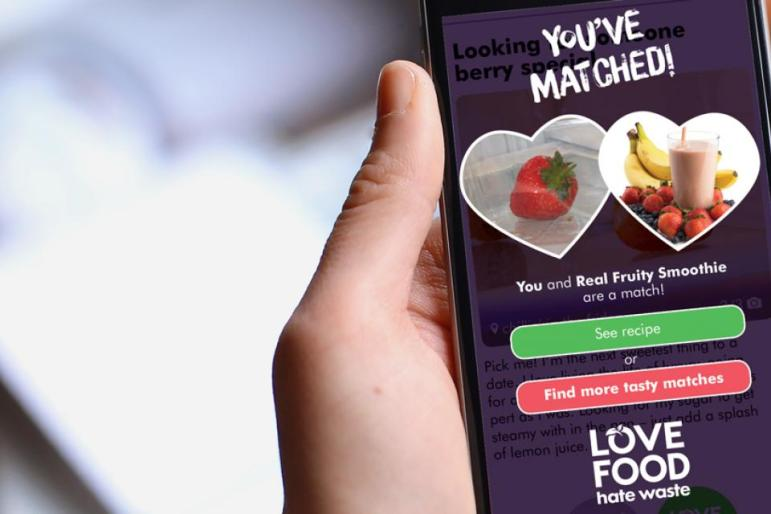 You've Matched, Photo Cred Love Food Hate Waste
